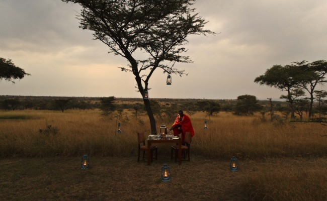 Asilia – Naboisho – Bush lunch kenya